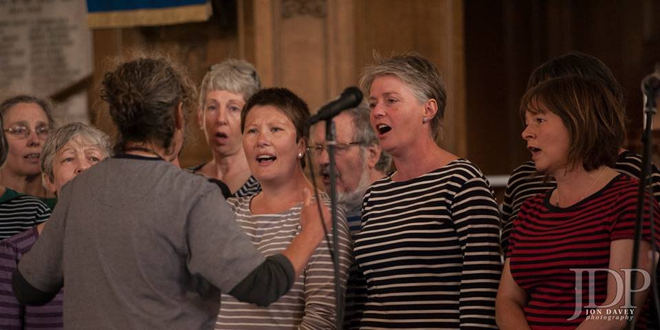 Singing at Imagine Portobello event on 30th May 2015